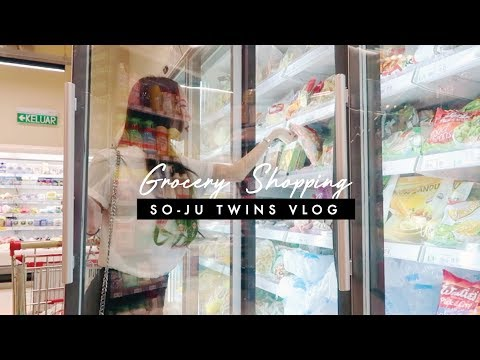 🍎 Grocery Shopping With Us 🍎 | SO-JU TWINS VLOG