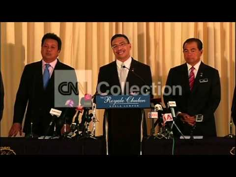 MALAYSIA: MH370 - INMARSAT SAYS GOV'T HAS DATA