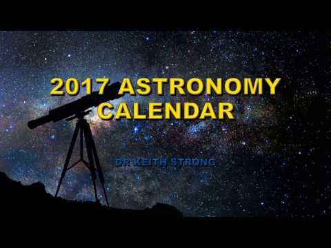 2017 ASTRONOMY EVENTS CALENDAR