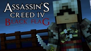 Minecraft Animation : ASSASSINS CREED 4! (Sky Edition)