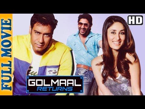 Golmaal Returns {HD} - Ajay Devgan - Kareena Kapoor - Arshad Warsi - Superhit Comedy Movie thumbnail