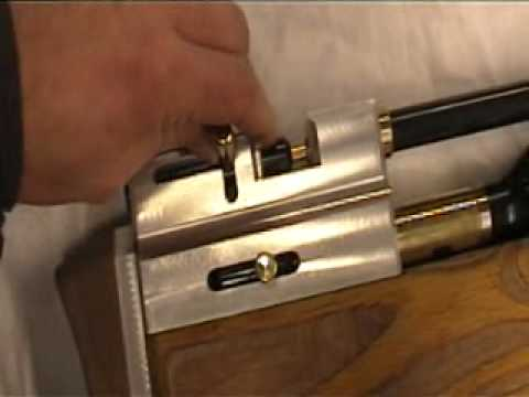 DIY airgun - new stock .wmv