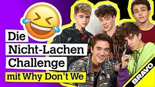 Why Don 39 T We Interview Nicht Lachen Challenge Mit Fan Komplimenten