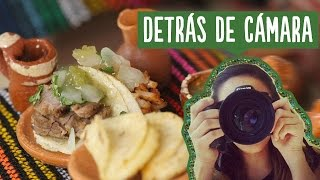 "Tacos mini ""Making of"" (Detrás de cámaras) ✎ Craftingeek"
