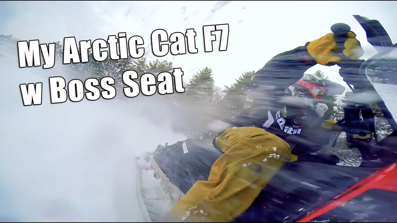 Arctic Cat Boss Seat Arctic Cat f7 Boss Seat Review