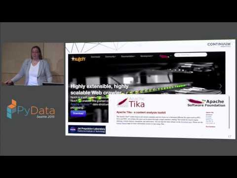 Katrina Riehl: Memex - Mining the Dark Web