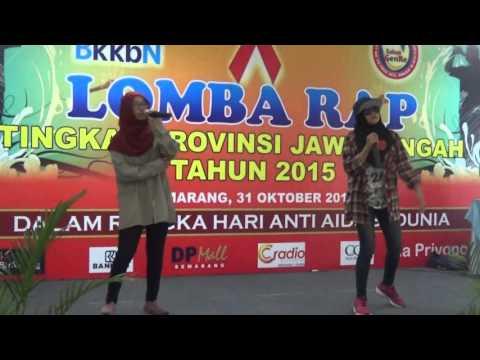 Lomba RAP BKKBN Jawa Tengah 31 Oktober 2015, Kendal Juara 3