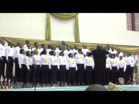 "University of fort hare choir:alice campus ""and he shall purify"""