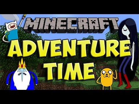 Minecraft 1.6.4 - Como instalar ADVENTURE TIME MOD - ESPAÑOL