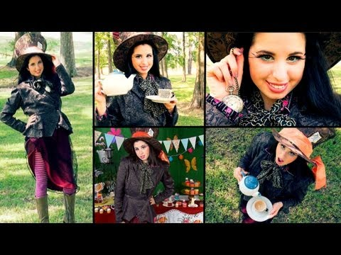 DIY Mad Hatter Costume Come Along With Me Shopping Trip & Colorful...