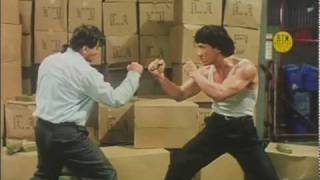 "Jackie Chan vs Benny ""The Jet"" Urquidez (Dragons Forever)"