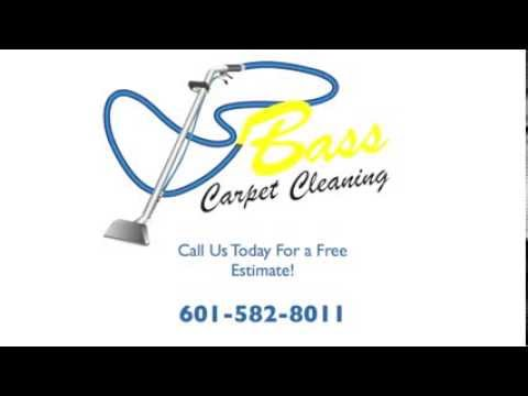 Bass Carpet Cleaning Hattiesburg MS | 601-582-8011