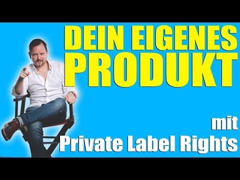 Eigenes Produkt erstellen mit Private Label Rights!