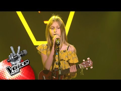 Jolien - 'Don't Worry Be Happy | Blind Auditions | The Voice Kids | VTM