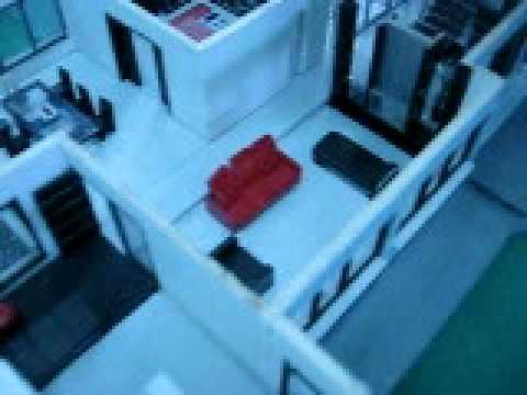Maqueta de casa de dos plantas youtube - Como hacer una maqueta de una casa ...