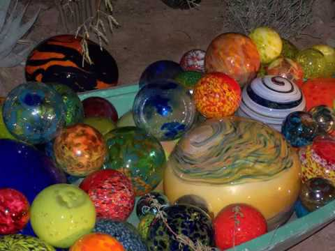Dale Chihuly s Nature of Glass at the Desert Botanical Gardens Christmas  08