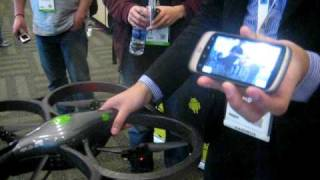Android Controled AR Drone at Google I/O Part 1/2