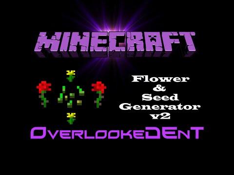Flower & Seed Generator v2 - Minecraft Xbox 360/PS3 - [Tutorial]