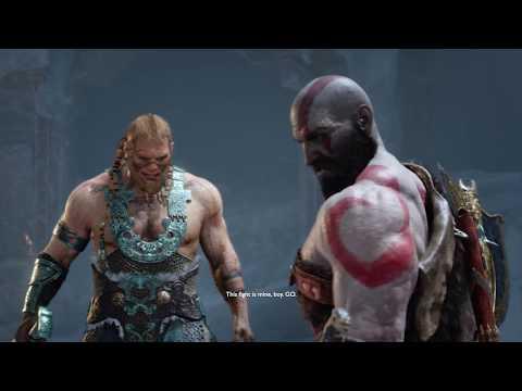 God of War 4 - Sons of THOR Magni & Modi Boss Fight #9 (God of War 2018) PS4 Pro