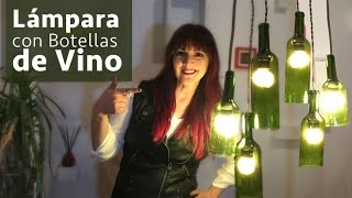 Lamparas con Botellas Vino :: Chuladas Creativas :: Wine DIY