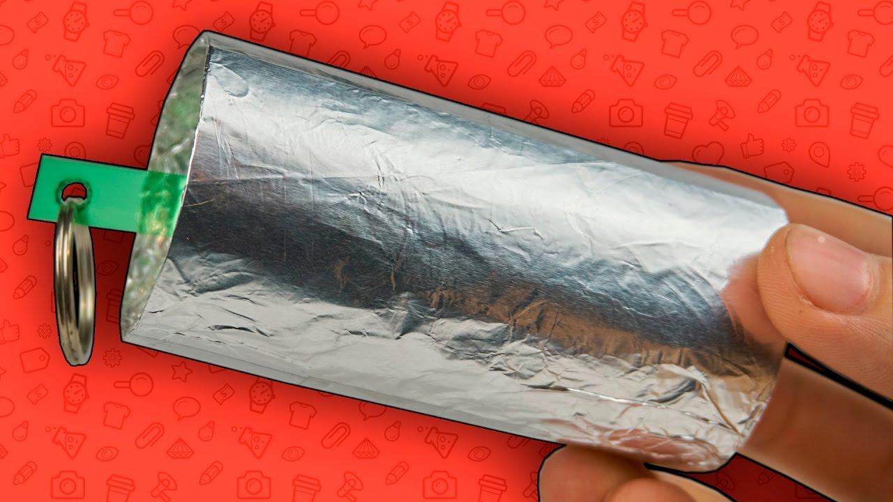 Как сделать дымовуху из бумаги