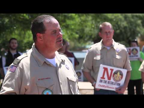 Lubbock group opposes gays in the Boy Scouts