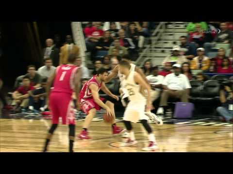 Kostas Papanikolaou Schools Anthony Davis With Up and Under Move