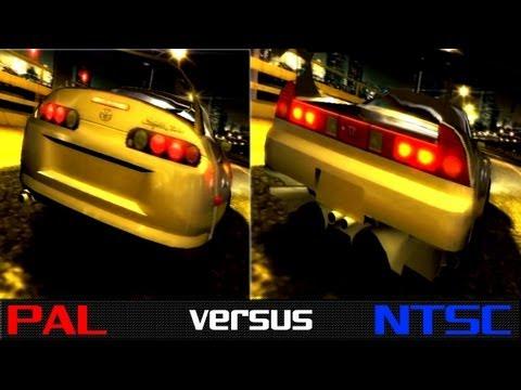 PAL vs. NTSC - The Fast & The Furious: Tokyo Drift (PS2)