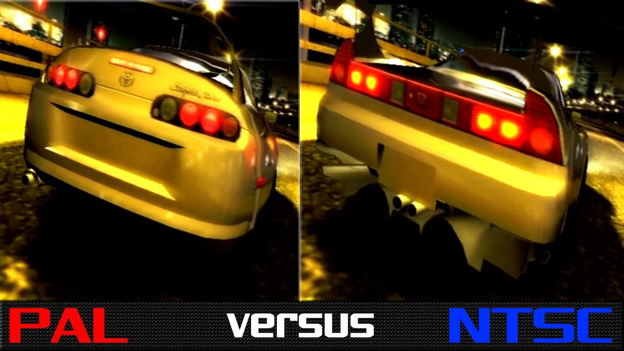 PAL vs. NTSC - The Fast & The Furious: Tokyo Drift (PS2) - YouTube