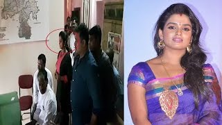 Breaking News !! Telugu Tv Actress Sri Vani Hulchal in Police Station | REPORTERBOX