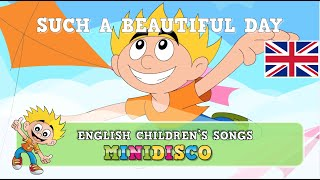 Children's Songs | Cartoon | SUCH A BEAUTIFUL DAY | Mindisco