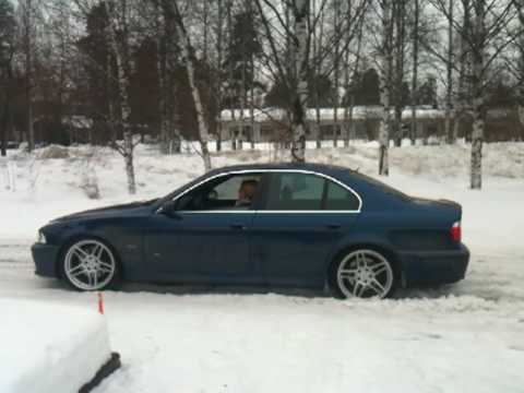 Bmw M5 Stuck In Snow Youtube
