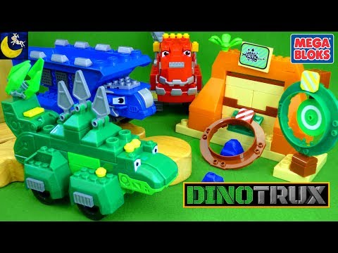 NEW Dinotrux Mega Bloks Toys with Mega Construx Garby's Target Smash Ton Ton Ty Rux Dinosaur Toys
