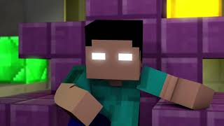 """New Minecraft Song """"Bye"""" New song from the Battle of the Glitches Animation series"""