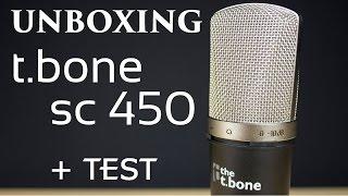 D Ballage  Unboxing  Review The T Bone Sc 450 Usb Fr 1080p50