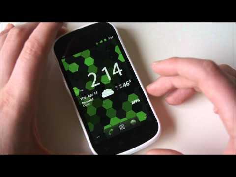 White Samsung Nexus S - Hands-on