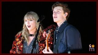 "Taylor Swift & Shawn Mendes - ""There's Nothing Holding Me Back"" Clip - Reputation Tour Rose Bowl"