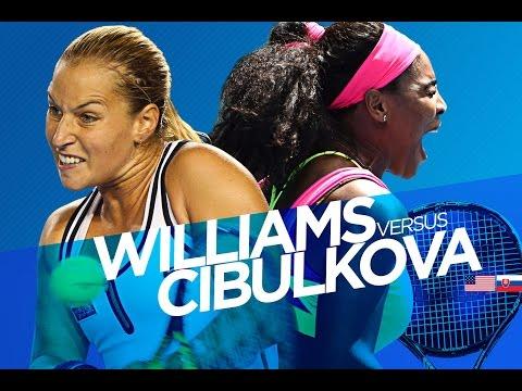 AO Analyst: Williams v Cibulkova (QF) - Australian Open 2015