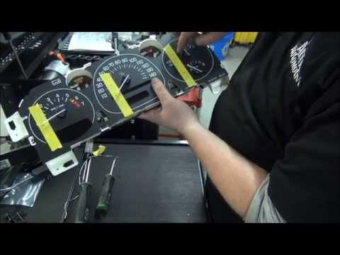How to repair GM Instrument Cluster   Speedometer   Gauge   Stepper
