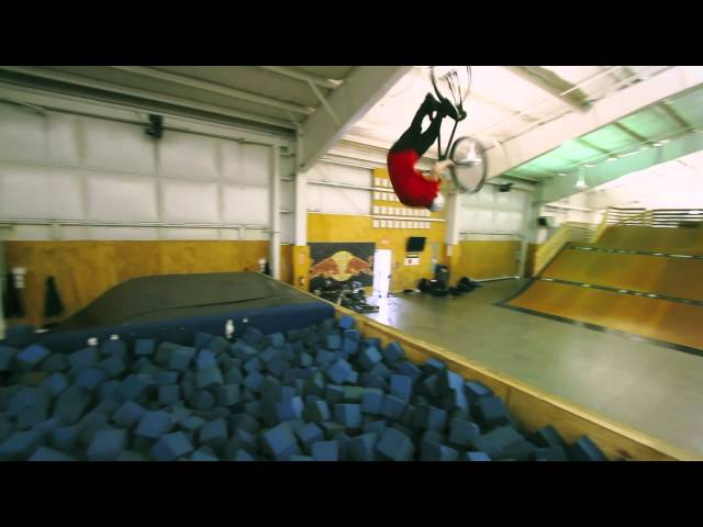 Rory Mcdermott Front flip attempt.