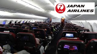 [English] 『Best Economy Class Airline Seats in 2017』Japan Airlines JL723|Narita ✈︎ Kuala Lumpur