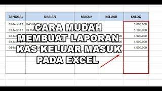 (4.59 MB) Ini Solusinya Cara Mudah Membuat Laporan Kas Keluar Masuk Pada Excel Mp3