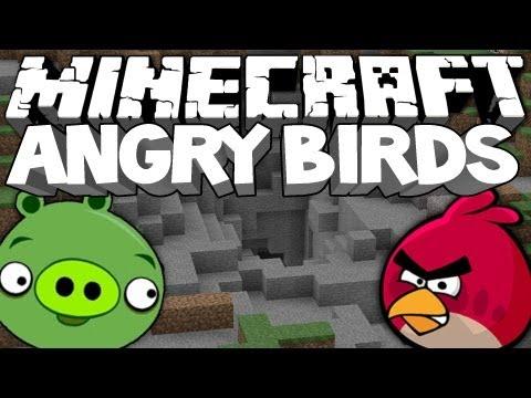 Minecraft ANGRY BIRDS MOD!