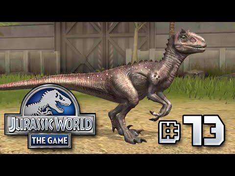 CarnoRaptor HYBRID || Jurassic World - The Game - Ep 73 HD