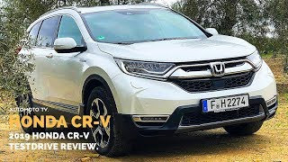 2019 Honda CR-V Hybrid Test Drive and Review.