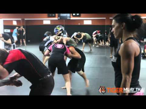 Cat Zingano Seminar at Tiger Muay Thai and Mixed Martial Arts Training Camp Image 1