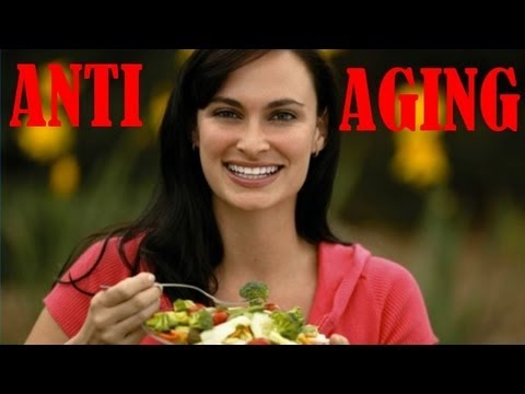 Diet Plan for ANTI AGING - raw food - NO BOTOX or STEROIDS - VEGAN PROTEIN
