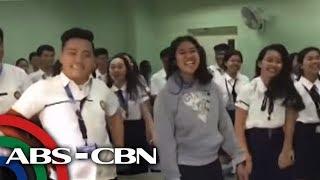 TV Patrol: 'Good morning challenge' ng mga mag-aaral sa Bacolod, viral