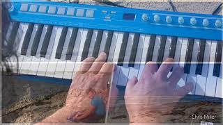 El piano azul con olas - Chris Miller Piano live 2018