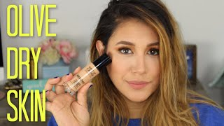 NEW Makeup Forever Reboot Foundation Review Olive Dry Skin